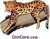 Leopard Vector Clipart illustration