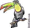Toucans Vector Clipart illustration