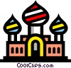Vector Clipart picture  of a Symbol of a church