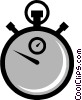 Symbol of a stopwatch Vector Clipart illustration