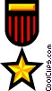 Vector Clipart graphic  of a Symbol of a medal