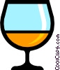 Symbol of a goblet Vector Clipart picture