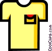 Symbol of a shirt Vector Clipart graphic