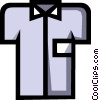 Vector Clipart illustration  of a Symbol of a dress shirt