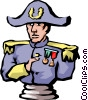 Vector Clip Art graphic  of a Napoleon