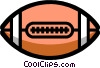 Vector Clip Art image  of a Symbol of a football