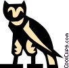 Vector Clipart picture  of a owl