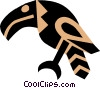 Egyptian hieroglyphic symbols Vector Clip Art picture