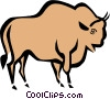 Cool bull Vector Clipart illustration