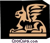 Vector Clipart picture  of a Egyptian hieroglyphic symbols