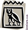Vector Clipart image  of a Egyptian hieroglyphic symbols
