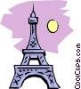 Eiffel Tower Vector Clipart picture