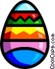 Vector Clip Art picture  of a Symbol of an Easter egg