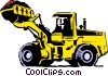 Vector Clipart graphic  of a Earth mover