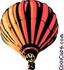 Hot air balloon Vector Clipart picture