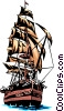 Sailing ship Vector Clip Art picture