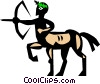 Centaur Vector Clipart picture