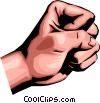 Vector Clipart picture  of a Hand