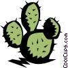 Cactus symbol Vector Clipart graphic