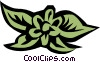 Floral design Vector Clipart picture