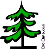 Tree symbol Vector Clipart graphic
