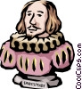 Vector Clipart graphic  of a Shakespeare