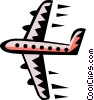 Airplane symbol Vector Clip Art picture