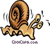 Snail Vector Clipart illustration