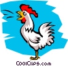 Vector Clipart image  of a Chicken