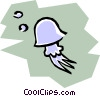 Vector Clipart graphic  of a Jellyfish