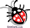Ladybug Vector Clipart illustration