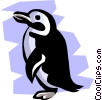 Vector Clipart picture  of a Penguin
