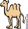 Camel Vector Clipart illustration