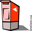 Mail box Vector Clipart graphic