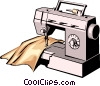 Sewing machine Vector Clipart picture