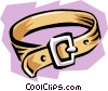 Vector Clip Art image  of a Belt