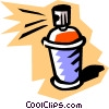Spray can Vector Clip Art picture