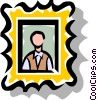 Vector Clipart graphic  of a Picture Frame