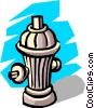 Fire hydrant Vector Clipart illustration