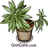 Vector Clipart illustration  of a Plant
