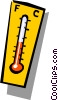 Thermometer Vector Clipart graphic