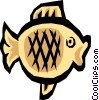 Cool fish Vector Clipart illustration