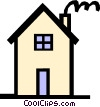 Vector Clipart graphic  of a House