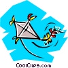 Kites Vector Clipart graphic