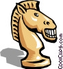 Chess piece Vector Clipart illustration