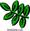 Leaves Vector Clipart image