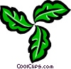 Leaf design Vector Clipart picture