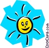 Vector Clip Art picture  of a Sun