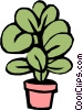 Vector Clipart illustration  of a Plants