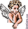 Angel Vector Clipart illustration
